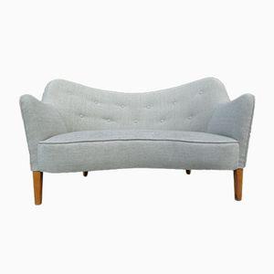 185 Two-Seater Sofa from Slagelse Møbelværk, 1950s
