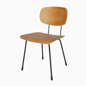 Sedia modello 116 in compensato di Wim Rietveld per Gispen, anni '60