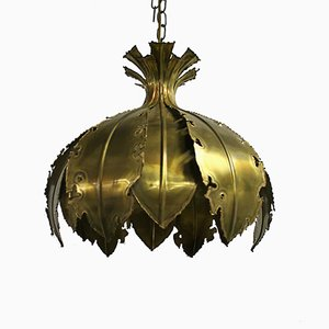 Vintage Brass Pendant by Svend Aage for Holm Sorensen & Co, 1960s