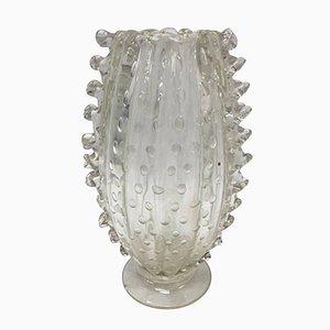 Murano Glas Vase von Barovier & Toso, 1960er