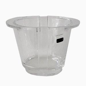 Vintage Vase aus Bleikristall von Laura Griziotti für Arnolfo di Cambio