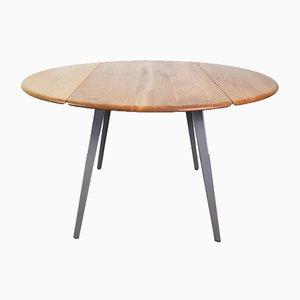 Table à Abattant Gris Vintage par Lucian Ercolani pour Ercol, 1960s