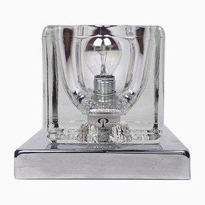 Würfelförmige Vintage Tischlampe von Peill & Putzler