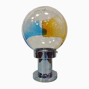Space Age Tischlampe von Toni Zuccheri für Venini, 1960er
