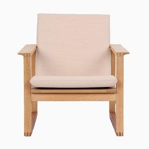 BM2256 Easy Chair by Børge Mogensen for Fredericia Stolefabrik, 1950s