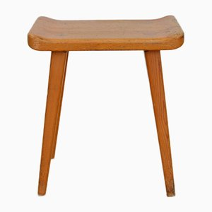 Visingsö Stool by Carl Malmsten for Svensk Fur, 1953