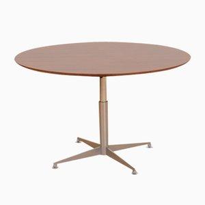 Anpassbarer Esstisch oder Teetisch mit Palisander Furnier, 1960er