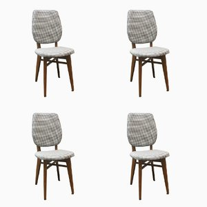 Vintage French Chairs, 1960s, Set of 4