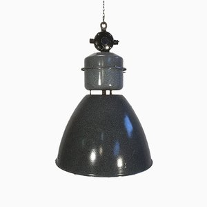 Czech Industrial Factory Pendant Lamp from Elektrosvit, 1960s