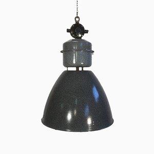 Lámpara colgante checa industrial de fábrica de Elektrosvit, años 60