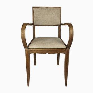 Art Deco Bridge Chair, 1940s