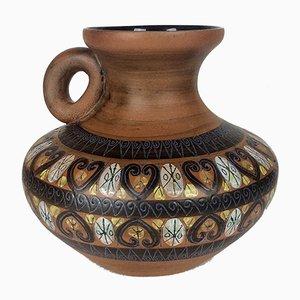 Vintage Ceramic Vase by Jean De Lespinasse, 1950s