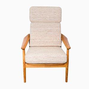 FD164 Teak Lounge Chair by Arne Vodder for France & Søn, 1960s