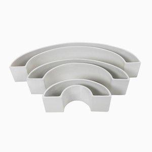 Ceramiche Tremiti di Angelo Mangiarotti per Danese, 1964, set di 3