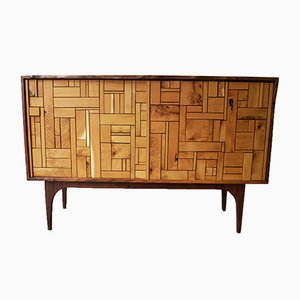 Walnut and Acacia Sideboard by John Alfredo Harris