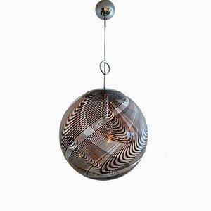 Lampada a sospensione in vetro di Murano di Lino Tagliapietra di La Murrina, anni '60