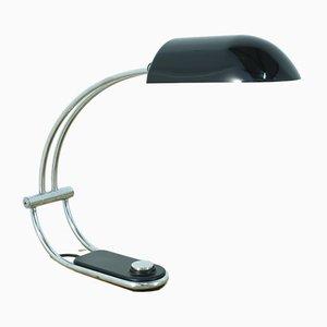 Lámpara de escritorio de metal cromado de Egon Hillebrand, años 70