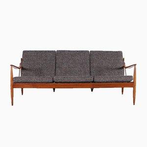 Vintage Scandinavian 3-Seater Sofa