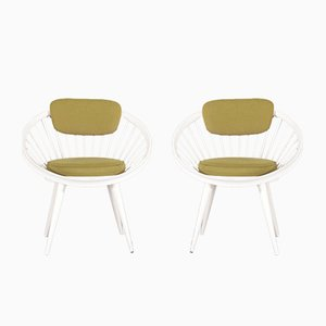 Circle Chairs by Yngve Ekström for Swedese, 1960s, Set of 2