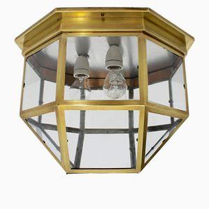 Lampe de Montage en Laiton Art Nouveau