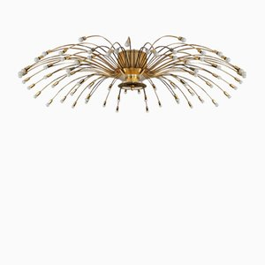 Brass Chandelier from Kalmar, 1950s