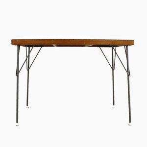 Mesa de comedor modelo 53 industrial de Wim Rietveld para Gispen, años 60