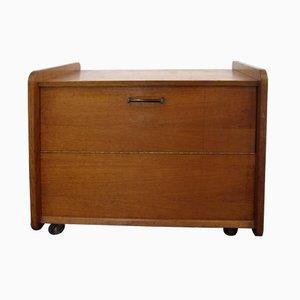 Mueble bar francés vintage, años 40