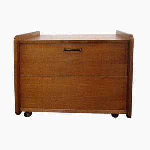 Vintage French Bar Cabinet, 1940s