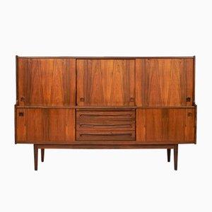 Mid-Century Palisander Highboard von Johannes Andersen für Skaaning Furniture