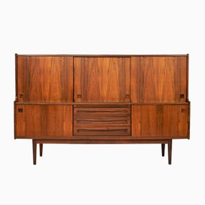 Mid-Century Rosewood High Board by Johannes Andersen for Skaaning Furniture