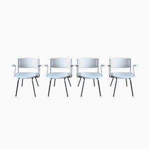 ND 150 Badminton Stühle von Nanna Ditzel, 1960er, 4er Set