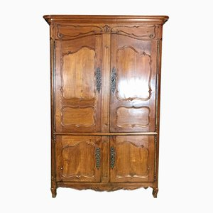 Antique Louis XV Cherry Cabinet