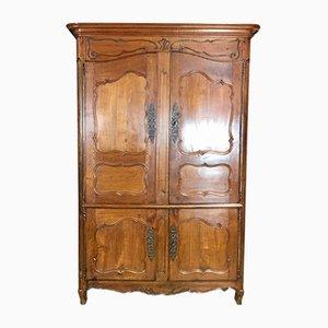 Mueble Luis XV antiguo de cerezo