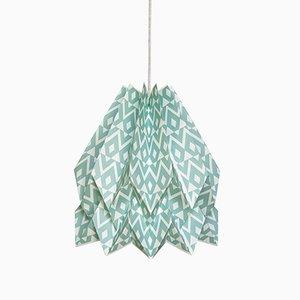 Tupi Deep Lagoon Origami Lampe von Orikomi
