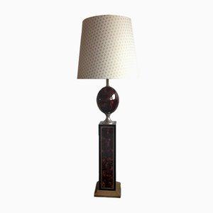 Olive Stehlampe von Le Dauphin 1990er