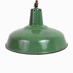 Lampe à Suspension Vintage Émaillée