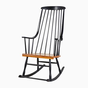 Rocking Chair Grandessa par Lena Larsson pour Nesto, 1958
