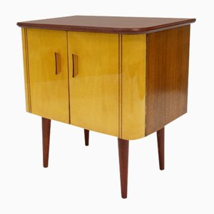 Lacquered Wooden Cabinet, 1960s