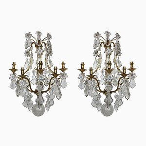 Wall Sconces from Baccarat, 1950s, Set of 2