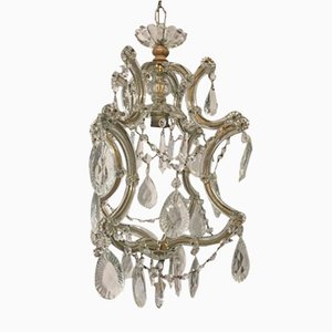 Vintage Crystal Maria Teresa Pendant