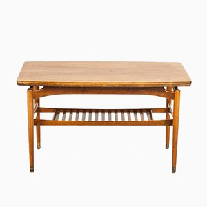 Danish Rosewood Expandable Coffee Table, 1970s