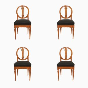 Louis XVI Chairs, 1790s, Set of 4
