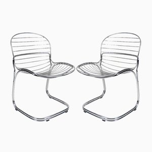 Sabrina Chairs by Gastone Rinaldi for Rima, 1970s, Set of 2