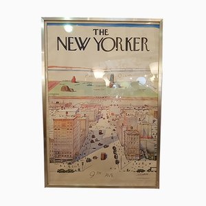 The New Yorker Poster von Steinberg, 1976