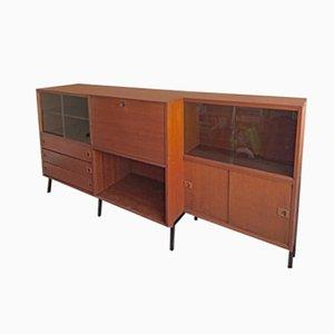 Mueble francés vintage de René Jean Caillette para Charon, años 50