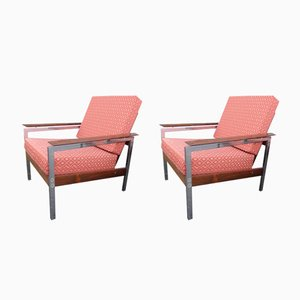 Vintage Lounge Chairs by alfred Hendrickx for belform, 1960s, Set of 2