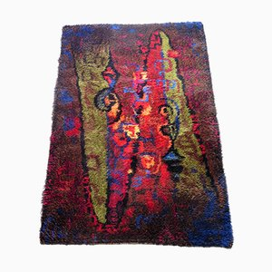 Vintage Wool Rug from Wasa