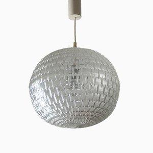 Mid-Century Ballon Hängelampe von Aloys Gangkofner für Erco, 1960er