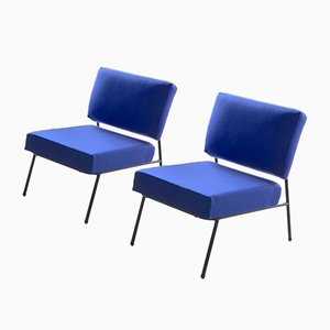 Chaises Vintage par Pierre Guariche for Airborne, France, Set de 2