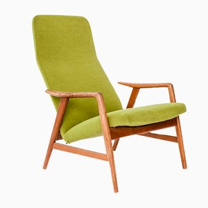 Teak Lounge Chair by Alf Svensson for Fritz Hansen, 1959